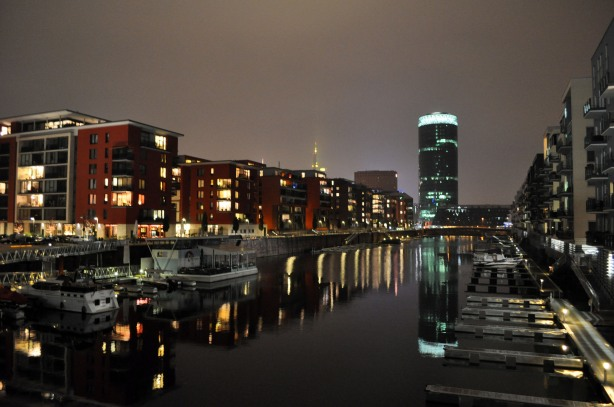Westhafen by Night